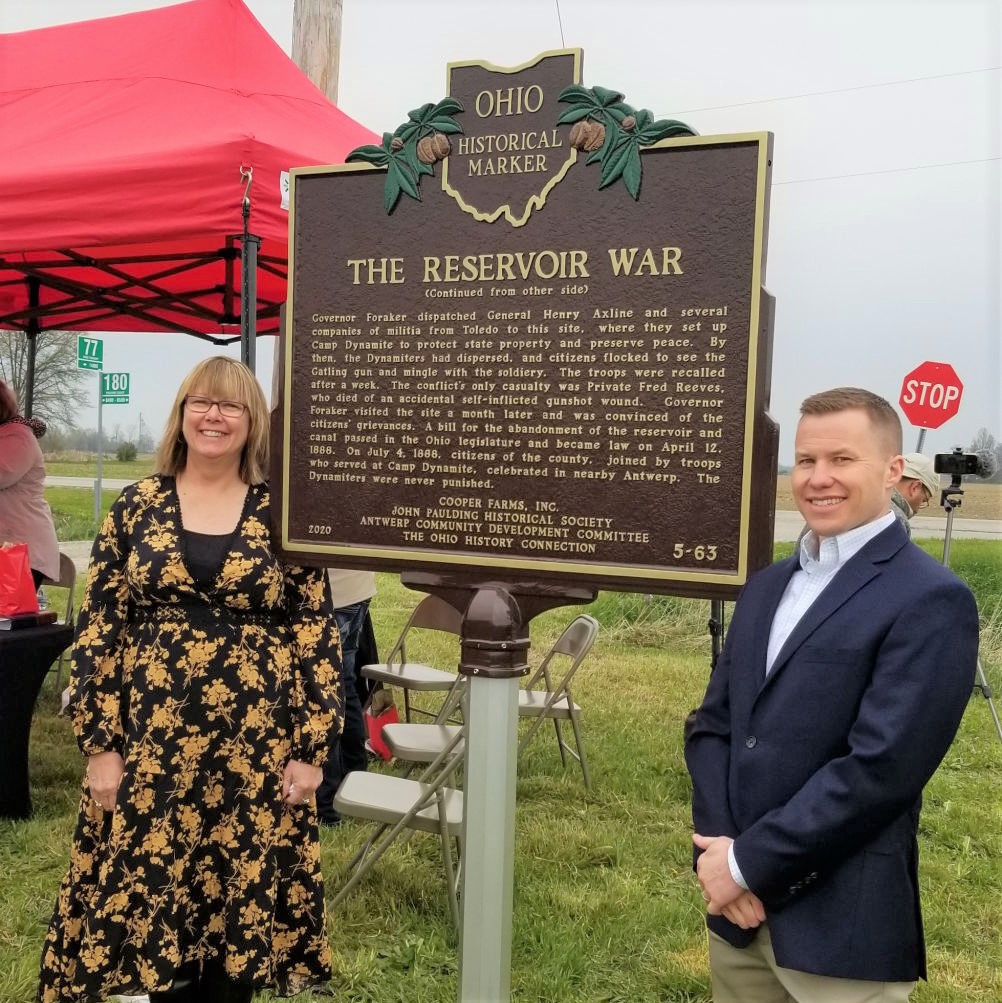 The Reservoir War Marker Has Been Dedicated