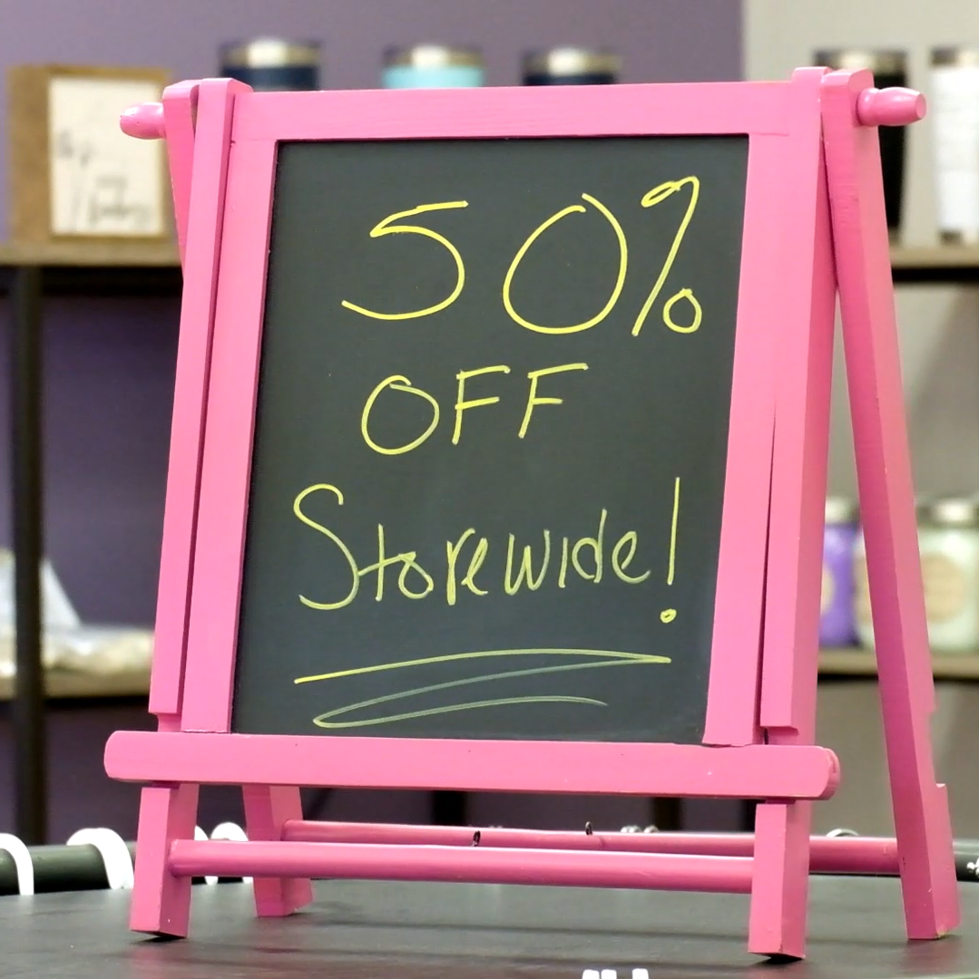 VIDEO: Dandelion Boutique 50% in May, 2021!
